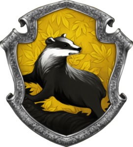 hufflepuff tassorosso logo